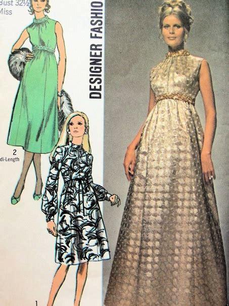 evening dress pattern  lengths empire waist