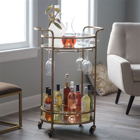 Bar Cart by Belham Living Bar Cart Serving Carts At
