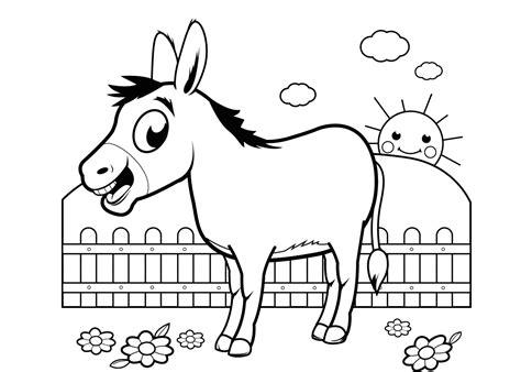 Kleurplaat 40 Dagen Tijd by De 40 Allerleukste Paarden Kleurplaten Voor Kinderen