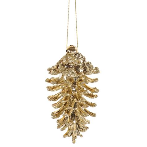 vickerman 29127 3 5 quot gold pine cone christmas tree