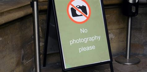 photographs banned   museums