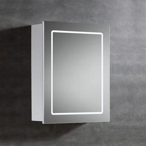 Led Medicine Cabinet by Ove Decors 20 In W X 25 In H X 6 In D Surface Mount Led