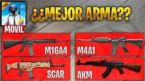 LA MEJOR ARMA DE PUBG MOBILE COMPARACION CON