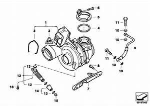 Original Parts For E83n X3 3 0d M57n2 Sav    Engine   Turbo Charger With Lubrication