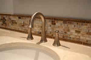 bathroom backsplash tile ideas 30 ideas of glass mosaic tile for bathroom backsplash