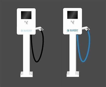 Ev Charger Ac Charging Station China Battery