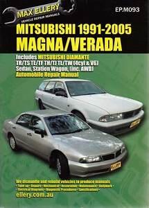 Mitsubishi Magna  Verada Tr Ts  Te Tf  Th Tj  Tl Tw 1991
