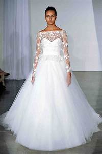 Long Sleeve Wedding Dresses, Fall 2013 | Martha Stewart ...