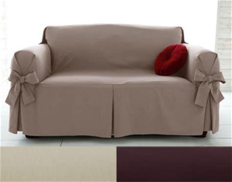 canaper lit housses fauteuil et canapés à larges nouettes becquet