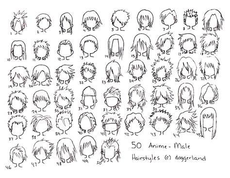 anime male hair styles  totamikundeviantartcom hsh