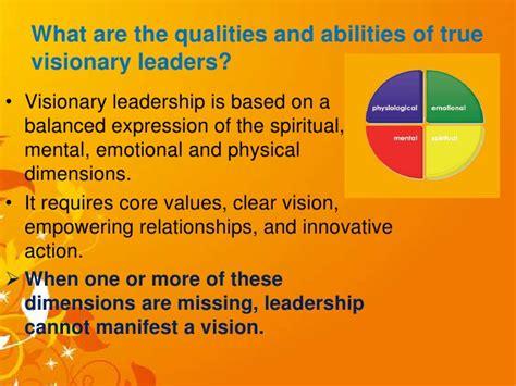visionary leaders