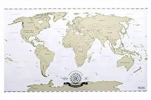 Carte Du Monde Metal : papier cadeau carte du monde cb55 montrealeast ~ Teatrodelosmanantiales.com Idées de Décoration