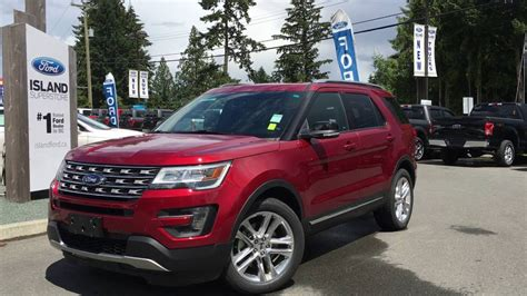 2016 Ford Explorer Xlt 4wd by 2016 Ford Explorer 4wd 4dr Xlt Nav Moonroof Review