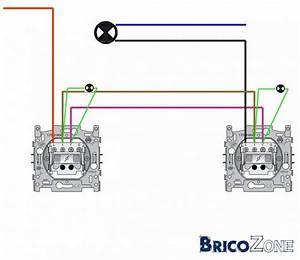 Branchement D Un Va Et Vient : branchement 2 va et vient avec t moins ~ Carolinahurricanesstore.com Idées de Décoration