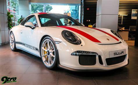 Most Expensive Porche by Porsche 911r Singapore Launch