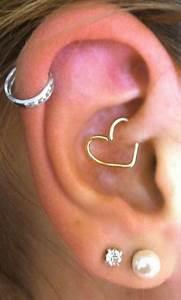 Soul Wired 16G Heart Ear Piercing | Daith earrings, Helix ...