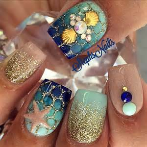 Pretty nail art designs for summer