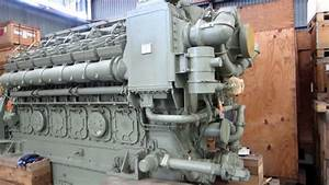 Ge 12v228 Diesel Marine Engine For Sale  Unused