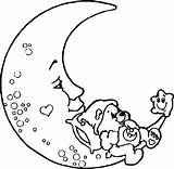 Moon Coloring Pages Crescent Phases Stars Printable Sun Getcolorings Adult Clipartmag Drawing sketch template