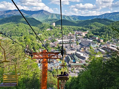 Sky Chair Lift Gatlinburg by Try The Sky Lift For Great Smoky Mountains Photos