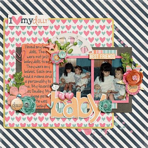 Layout using {Miss Dolly} Digital Scrapbook Collection by ...