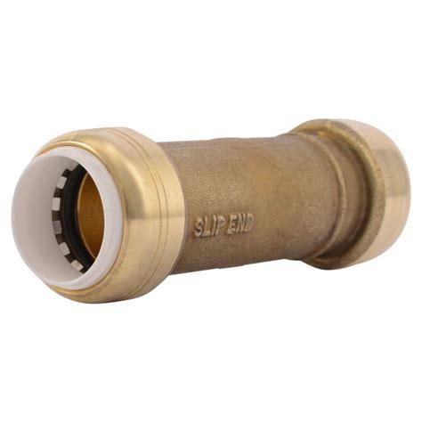 Sharkbite 34 In Brass Pushtoconnect Pvc Ips Slip