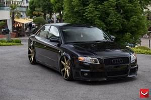 Audi B7 Tuning : audi rs4 b7 mit vossen wheels und extremer tieferlegung ~ Kayakingforconservation.com Haus und Dekorationen