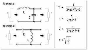 Spule Induktivität Berechnen : lc filter collins filter elektronik ~ Themetempest.com Abrechnung