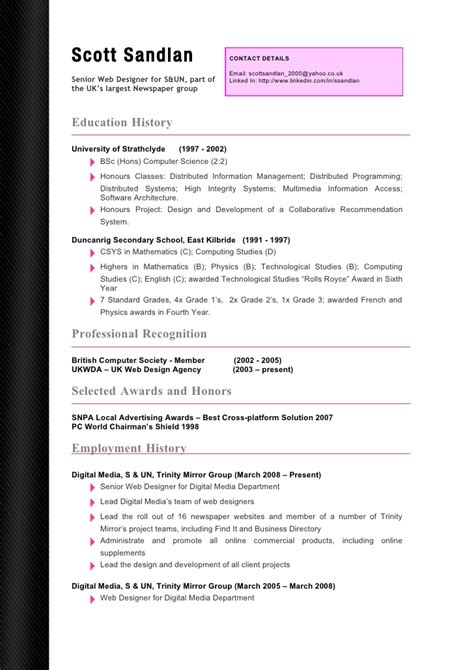 Curriculum Vitae Template For Word 2013 by Modelo De Curriculum Vitae Word 2013