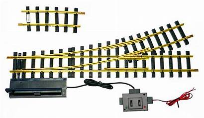 Usa Trains Remote Left Switch Brass Turnout