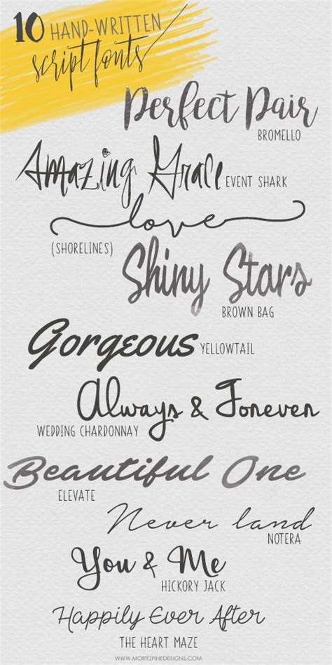 Beautiful Scripts And Fonts by 45 Best Images About Handwriting Fonts On
