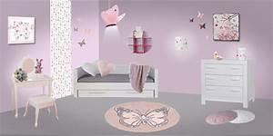 Chambre enfant papillon et oiseau deco papillons pour for Stickers chambre enfant avec housse de couette motif orchidee