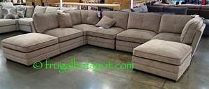 Costco bainbridge 7 pc modular fabric sectional 99999 for 7 piece modular sectional sofa costco