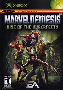Marvel Nemesis Rise Of The Imperfects Xbox