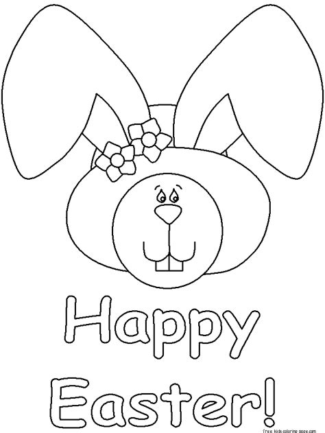 printable happy easter coloring pages  printable coloring pages  kidsfree printable