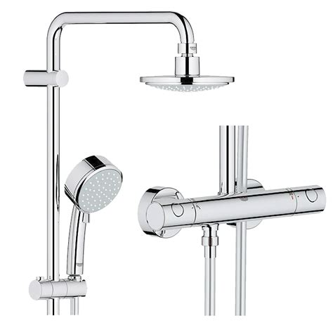 grohe tempesta  duschsystem thermostatbatterie