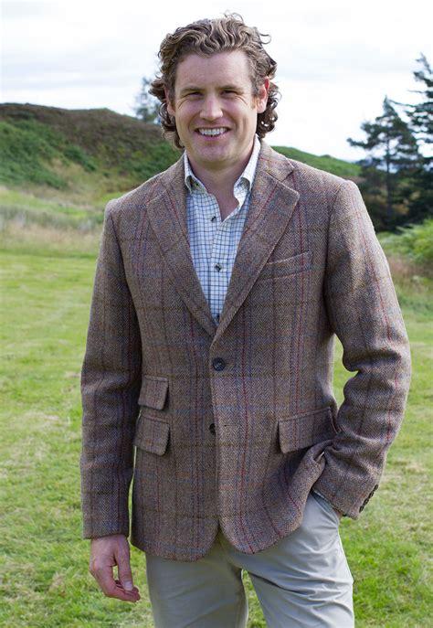mens harris tweed country jacket