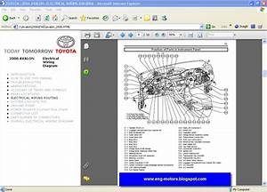 Parts  U0026 Accessories 2006 Toyota Avalon Electrical Wiring