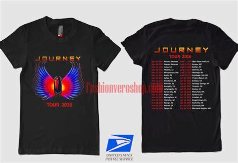 Journey Rock Band Tour Concert 2016 T Shirt Band