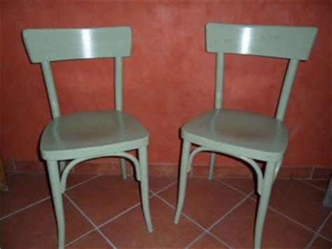 comment peindre une chaise en bois chaise bistrot peindre