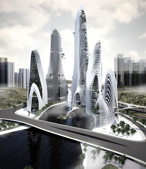 bureau line office shan shui city mad architects arch2o com