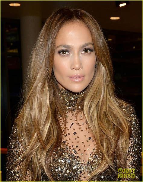 Celeb Diary: Jennifer Lopez & Casper Smart @ 2013 American ...