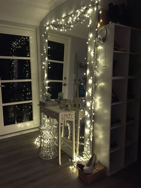 cheer   bedroom   fairy lights decohoms