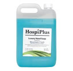Blue Liquid Hand Soap