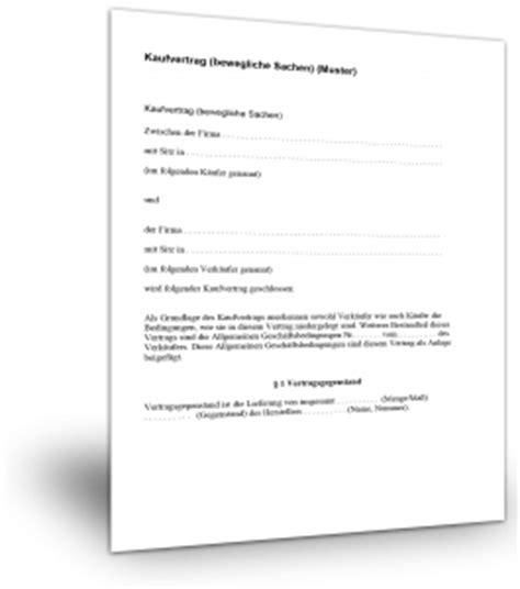 Kaufvertrag Standardvertraegede