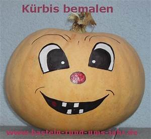 Kürbis Bemalen Gesicht : k rbisse mit gesicht bemalen basteln rund ums jahr ~ Markanthonyermac.com Haus und Dekorationen