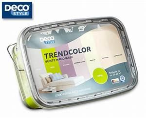 Wandfarbe Im Angebot : deco style trendcolor bunte wandfarbe angebot ~ Frokenaadalensverden.com Haus und Dekorationen