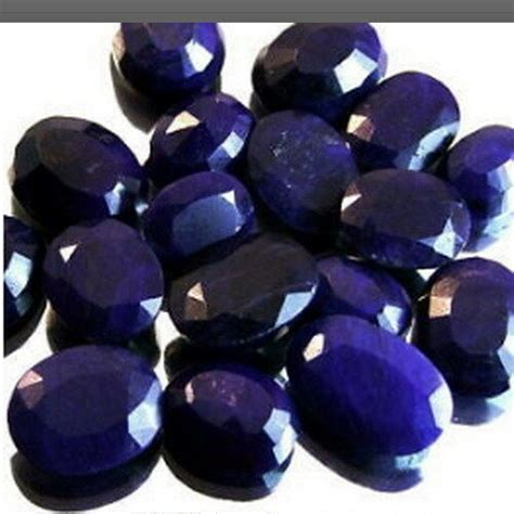 stones ct natural african blue sapphire aaa gems ebay