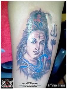 Trishul tattoos #trishul Trident #lord shiva eyes tattoos ...