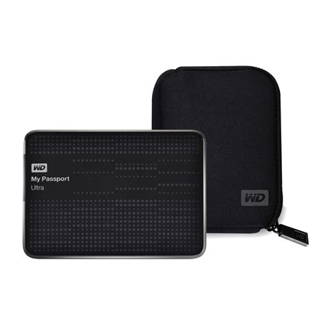 housse disque dur externe wd western digital wd my passport ultra 1 to noir usb 3 0 western digital wdbabk0000nbk